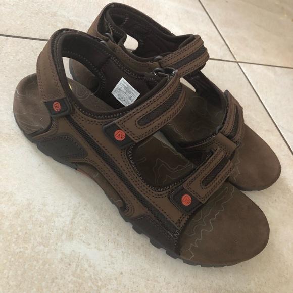 Merrell Other - Merrell sandspuroak men's sandals brown